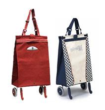 Хозяйственные раскладные сумки на колесах