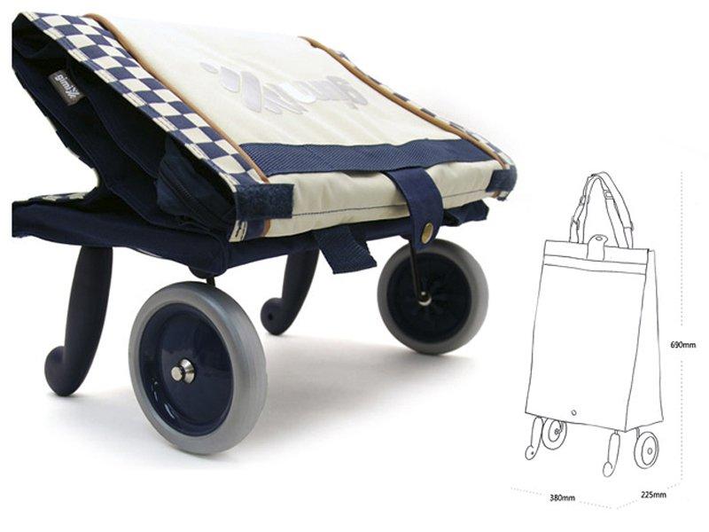 1e9adfbe5a77 Хозяйственные раскладные сумки на колесах Gimi Bella, цена, купить в ...